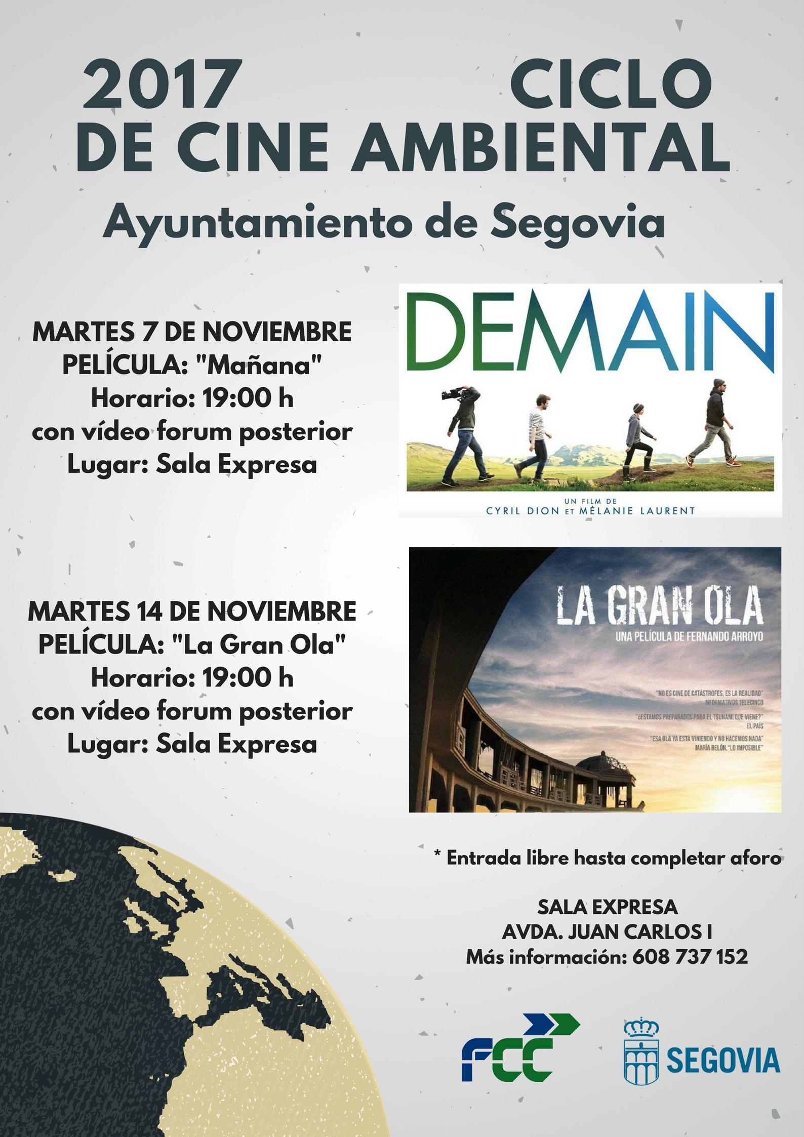 Ciclo de Cine Amb Ayto Segovia 2017
